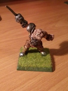 Photo showing Morg 'n' Thorg, from Games Workshop's Blood Bowl